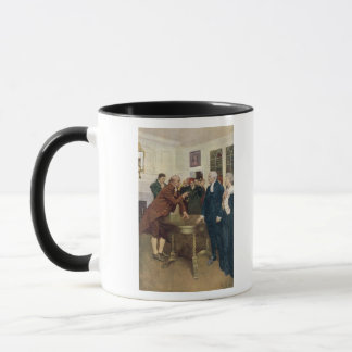 A Committee of Patriots Delivering an Ultimatum Mug