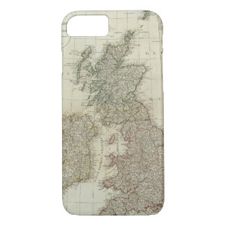 A complete map of the British Isles iPhone 8/7 Case