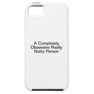 a completely obsessive really nutty person case for the iPhone 5