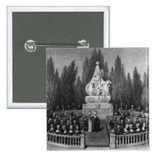 A Concert 15 Cm Square Badge