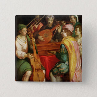 A Concert 15 Cm Square Badge