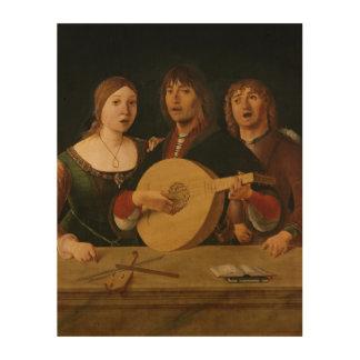 A Concert 2 Wood Canvas