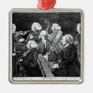 A Concert at Cambridge, 1770 Christmas Ornament