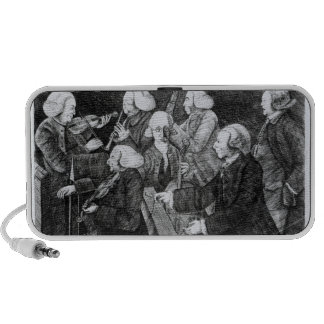 A Concert at Cambridge 1770 iPod Speakers