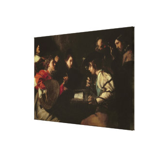 A Concert, c.1610-20 (oil on canvas) Stretched Canvas Print