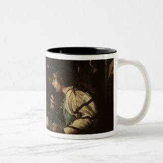 A Concert, c.1610-20 (oil on canvas) Two-Tone Coffee Mug