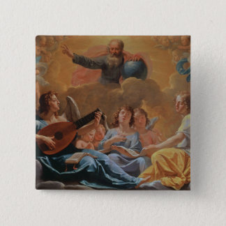 A Concert of Angels 15 Cm Square Badge