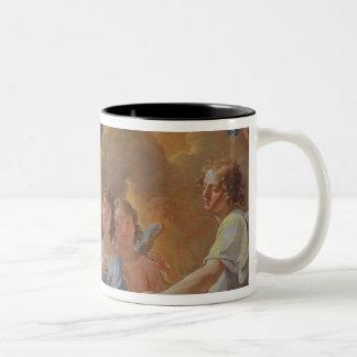 A Concert of Angels Two-Tone Coffee Mug
