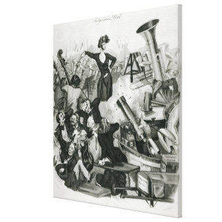 A Concert of Hector Berlioz Canvas Prints