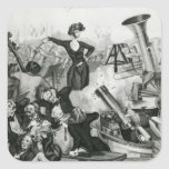 A Concert of Hector Berlioz Square Sticker