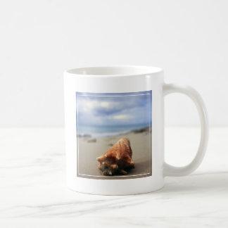 A Conch Shell On The Beach | St. Croix, Usvi Coffee Mug