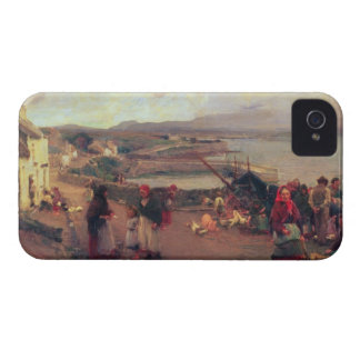 A Connemara Village - The Way To The Harbour, 1898 Case-Mate iPhone 4 Cases