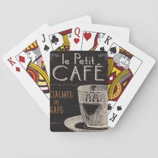 A Contemporary Cup of Coffee Playing Cards