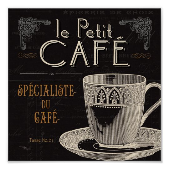 A Contemporary Cup of Coffee Poster