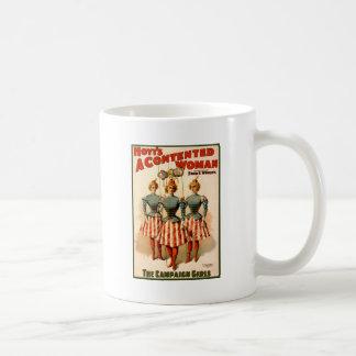 A Contented Woman Campaign Girls Basic White Mug