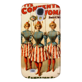 A Contented Woman Campaign Girls Samsung Galaxy S4 Covers