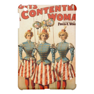 A Contented Woman Campaign Girls iPad Mini Cover