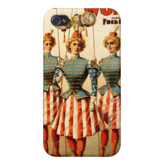 A Contented Woman Campaign Girls Case For iPhone 4