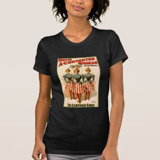 A Contented Woman Campaign Girls Shirt