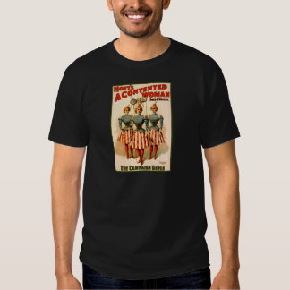 A Contented Woman Campaign Girls Shirts