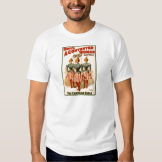 A Contented Woman Campaign Girls Tshirt