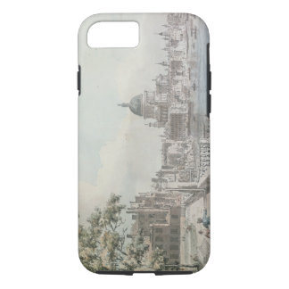 A copy of part of a drawing by Canaletto, of St. P iPhone 8/7 Case