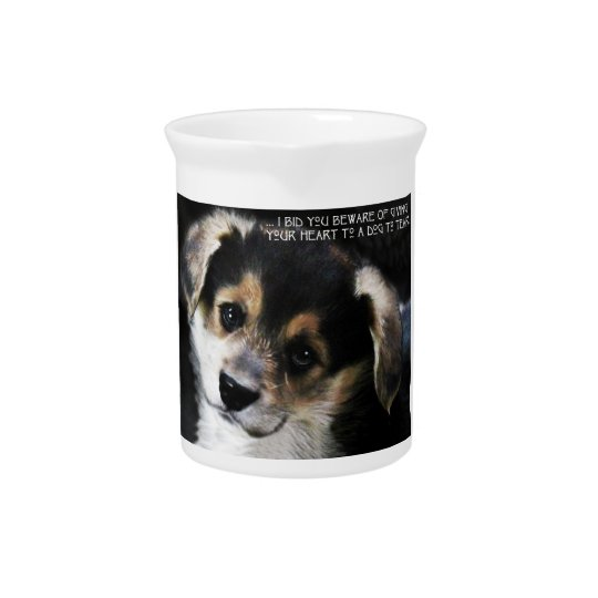 A Corgi In Your Heart Pitcher