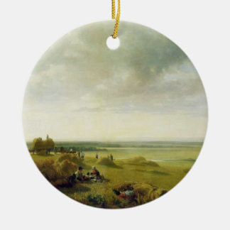 A Corn Field Christmas Ornament