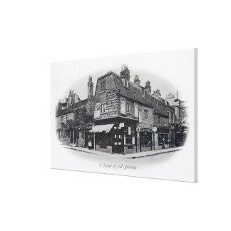 A Corner of Old Bromley Canvas Print