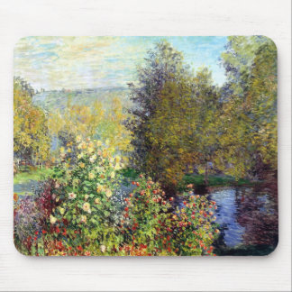 A Corner of the Garden at Montgeron Mouse Pad