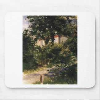 A Corner of the Garden in Rueil by Edouard Manet Mouse Pad