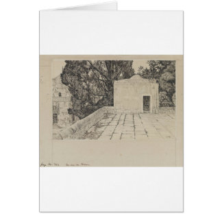 A Corner of the Haram by James Tissot Greeting Card