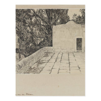 A Corner of the Haram by James Tissot Postcard