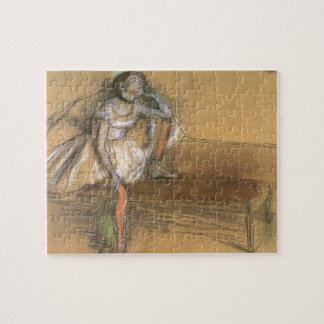A Coryphee Resting by Edgar Degas, Vintage Ballet Jigsaw Puzzle