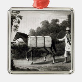 A Cotton Carrier, from 'Travels in Brazil' Christmas Ornament