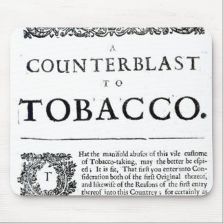 A Counterblast to Tobacco Mouse Mat