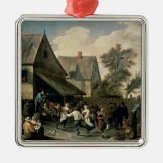 A Country Dance Christmas Ornament