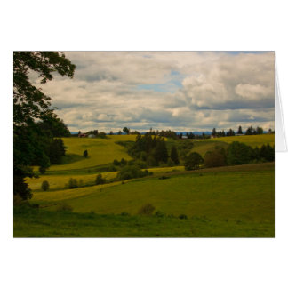 A country drive in Oregon Greeting Cards