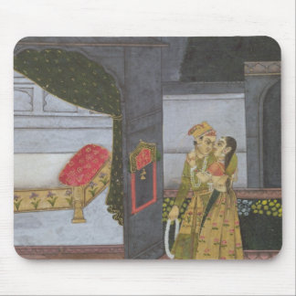 A Couple, illustration from the 'Malavi Ragini' Mouse Mat