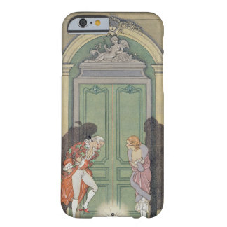 A Couple in Candlelight, illustration from 'Les Li Barely There iPhone 6 Case