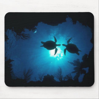 A couple of turtles mouse mat