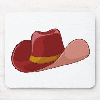 A cowboy's hat mousepads