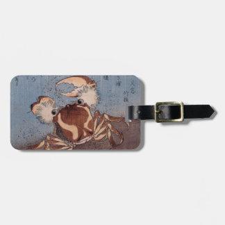 A Crab on the Seashore by Utagawa Kunisada Tag For Bags