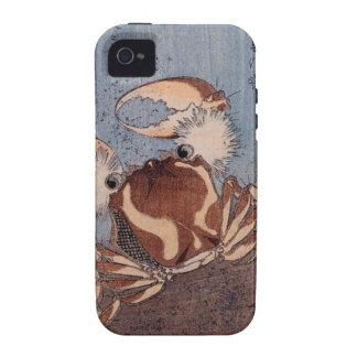 A Crab on the Seashore by Utagawa Kunisada Vibe iPhone 4 Covers