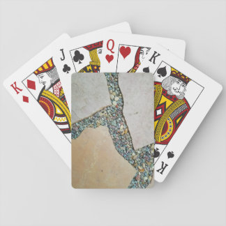 A Crack in the Pavement Playing Cards