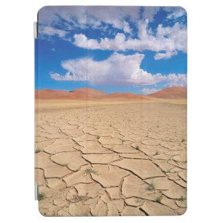 A cracked desert plain iPad air cover