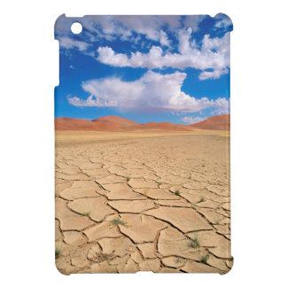 A cracked desert plain iPad mini case