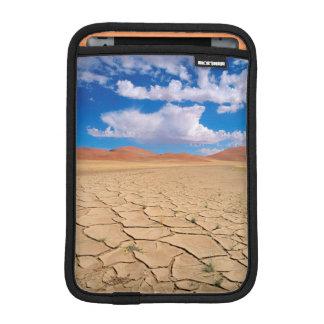 A cracked desert plain iPad mini sleeve