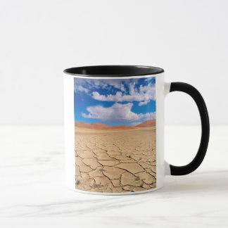 A cracked desert plain mug