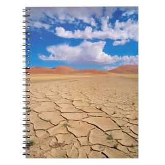 A cracked desert plain notebooks